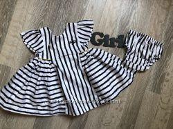 пышное платье для малышки на 0-3 мес до 60см