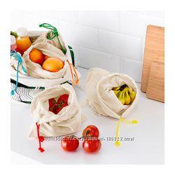 Сумка для фруктов и овощей АНВЭНДБАР, 5 штук. ИКЕА