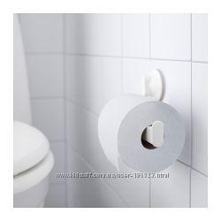 Держатель туалетной бумаги на вакуумной присоске СТУГВИК. ИКЕА