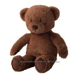 Мягкая игрушка БРЮНБЬЁРН, медведь. ИКЕА