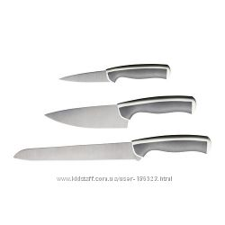 Набор ножей ЭНДЛИГ, 3 штуки. ИКЕА