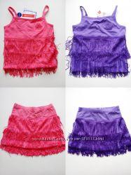 Акция Скидка Комплект юбка и топ для девочек из Италии Моднячие