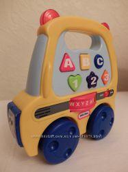 Little Tikes машинка музыкальная развивающая Англия на английском