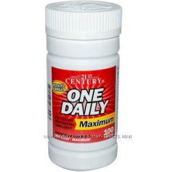 витамины взрослым максимум 21st Century One Daily Maximum