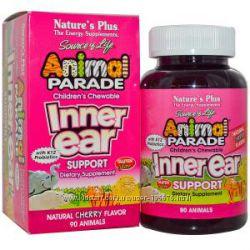 пробиотики ухо горло нос Inner Ear Support Plus Animal Parade