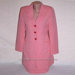 Костюм деловой р. 44-46 с удлиненным пиджаком