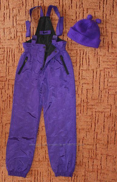 Лыжные штаны  шапка комбинезон Rodeo на рост 158-165см