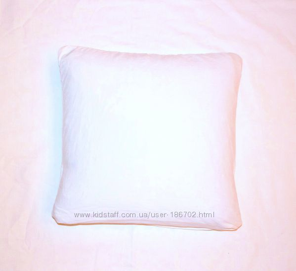 Детская подушечка пух-перо 35х35 см