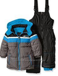 Зимние комплекты куртка и полукомбинезон