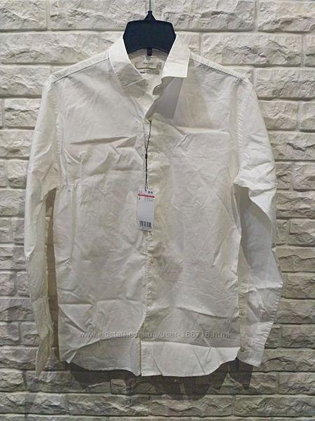 Мужская приталенная рубашка Mango slim fit
