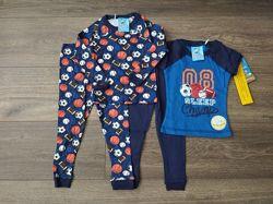 Комплект из двух пижам для мальчика 18мес