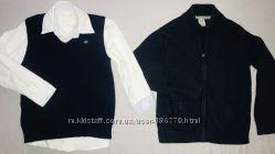 Рубашка, жилет и кофта на молнии ZY Португалия Цена за всё
