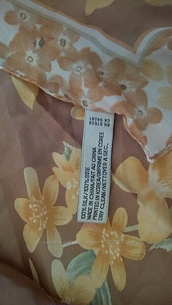 Оригинальн шелк платок Anna klein