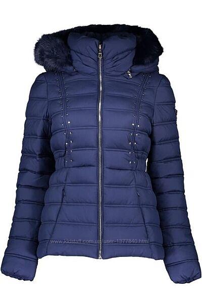 Модная женская куртка Guess. Оригинал. Новая. Размер Xs, S. Скидка. Капюшон