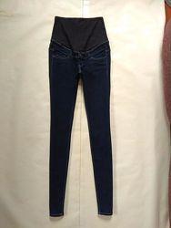 Стильные джинсы скинни для беременных H&M, 34 pазмер.