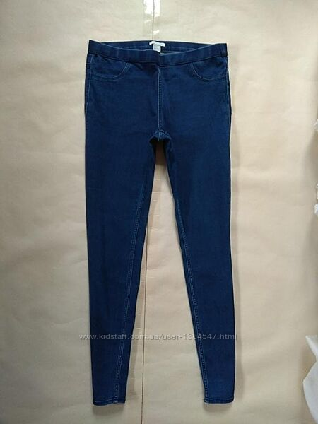 Стильные джинсы джеггинсы скинни H&M, 42 размер.