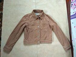 Укороченная вельветовая джинсовая куртка Esprit, L размер.