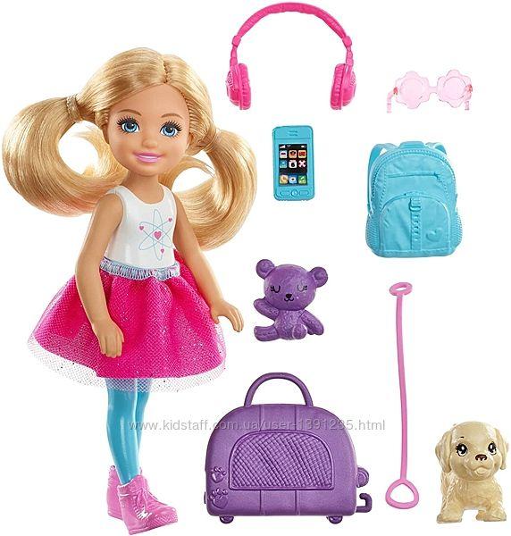 Кукла Барби путешественница Челси Barbie Travel Chelsea.