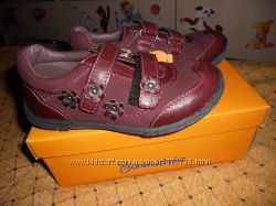 отличные новые кожаные немецкие ботиночки Baren-schule
