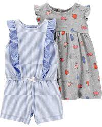 Комплект Carters платье и песочник