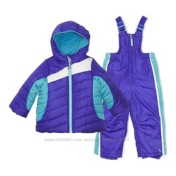 Зимний костюм фирмы Arctic Quest для девочек 12М