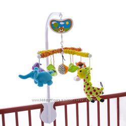 Мобили на кроватку Biba Toys Сочные фрукты, Весенняя лужайка и др.
