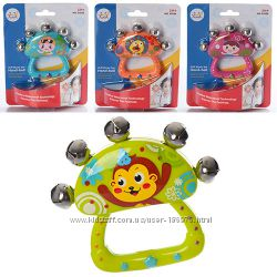 Большой выбор качественных  погремушок от Huile Toys. Много новинок