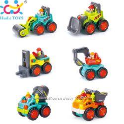 Стройтехника 3116B , подвиж. детали, отличное качество от Huile Toys