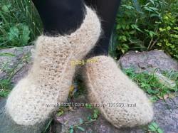 Следки следы носки из собачьей шерсти шерсть