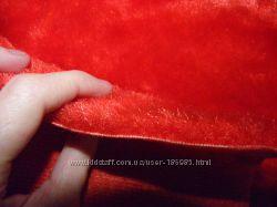 Ткань плюш длинноворсый 150см Х 320см Винтаж