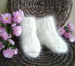 Мякі та теплі шкарпетки з натуральної вичесаної шерсті коллі