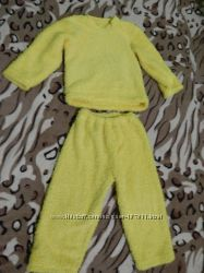 Махровая пижамка на 3-4 года