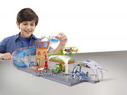 Mattel Planes Литачки Гараж, Пожарная станция Kid galaxy, Tonka Стройка