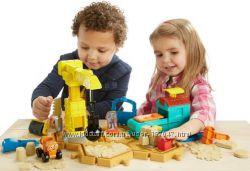 Игровой набор для игры с кинетическим песком Bob the builder от Fisher pric
