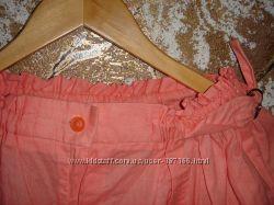 Красивые оранжевые брюки. Полностью хлопок. Качество СССР. Новые
