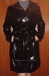 Роскошное осеннее пальто под лакированное. США. Распродажа