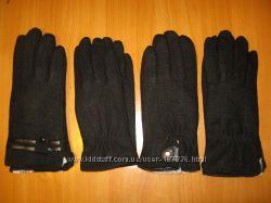 мужские  кожаные , кашемировые, флисовые и вязаные  перчатки