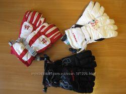 горнолыжные перчатки, разные цвета и модельки