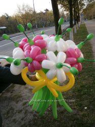 Букеты из шариков - будьте оригинальны. Киев, Троещина