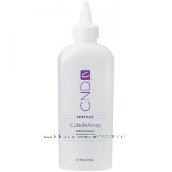 CND Cuticle Away Remover  средство ремувер для удаления кутикулы 177 ml