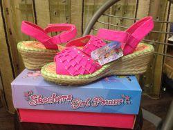 Яркие, красивые, новые, модные босоножечки для девочки Skechers, 33 размер