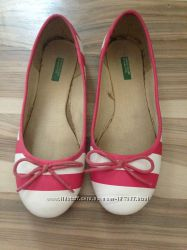 Красивые балетки 35 размера, Benetton