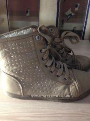Ботиночки на небольшом меху, на осень