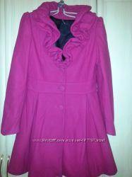 кашемировое пальто NAF-NAF для стройной девущки