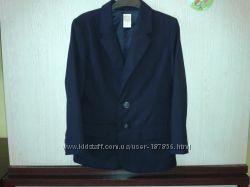 Пиджак школьный 100 шерсть Gymboree на 6-7 лет