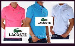 Огромный ассортимент мужских рубашек поло Lacoste Супер кач-во Отзывы