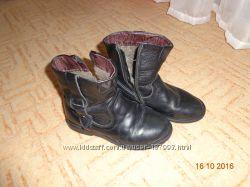 Детские кожаные сапожки 34 размер
