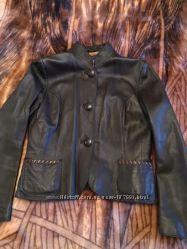 Стильная лайковая куртка Betty Jackson, Англия, оригинал, бренд, M&92L