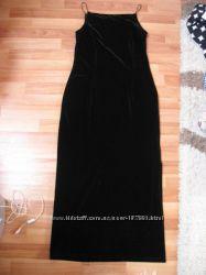 Вечернее бархатное макси платье Yessica. Размер 40