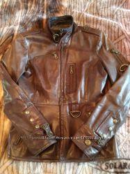 Классная лайковая куртка Laura Di Scarpi, 38 р-р